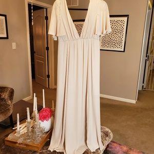 Faye Flutter Maxi Dress